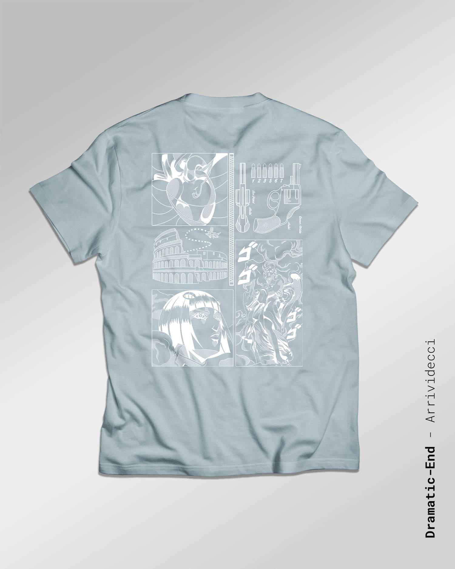 T-shirtmade in France l'univers de Jojo's bizarre Adventure